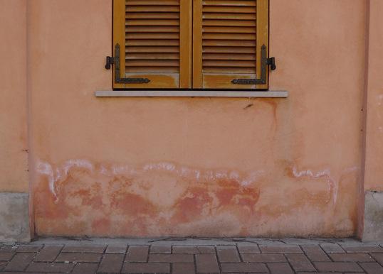 Humedad en pared externa